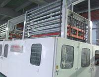 金红叶公司无芯生产线生产现场