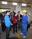 佛山市副市长王玲一行莅临佛山市宝索 机械制造有限公司视察并指导工作