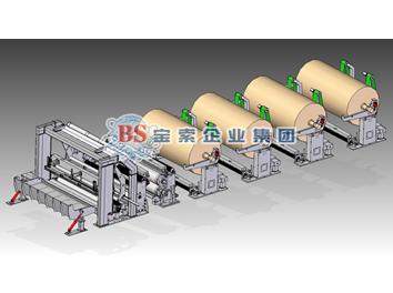 宝索企业集团向泰盛集团交付的 国产第一台5.6米PF-EG高速盘纸分切机顺利开机