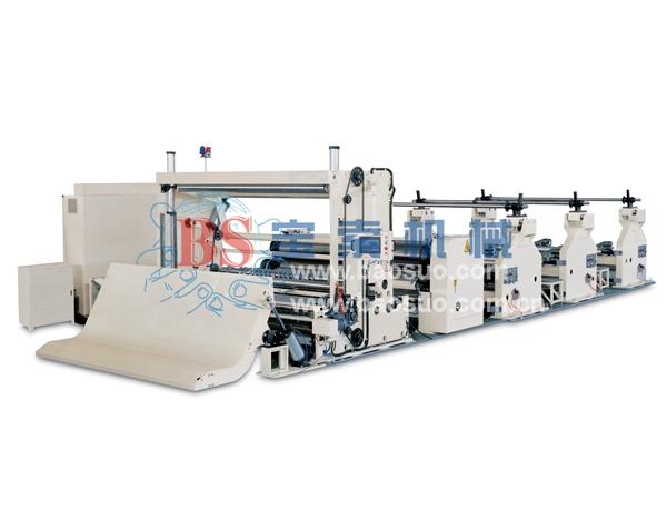 宝索PF-EA全自动高速盘纸分切机