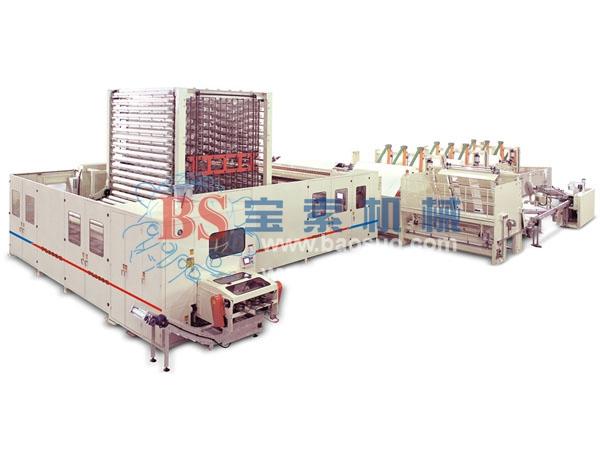宝索YD-PL600C 有芯/无芯高速集成复卷生产线