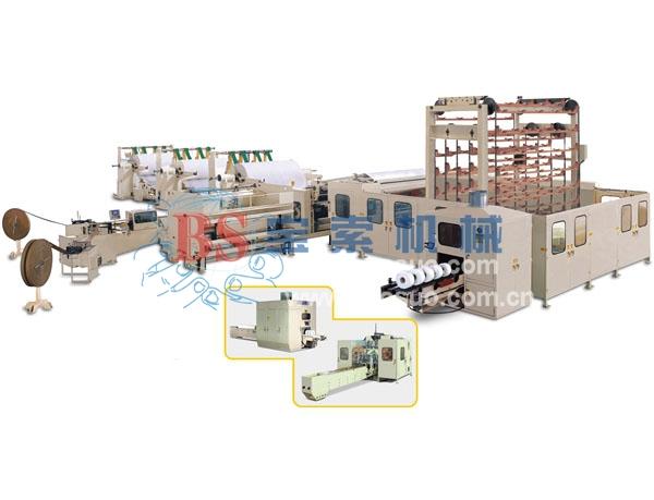 宝索YD-PL400E全自动小盘纸生产线