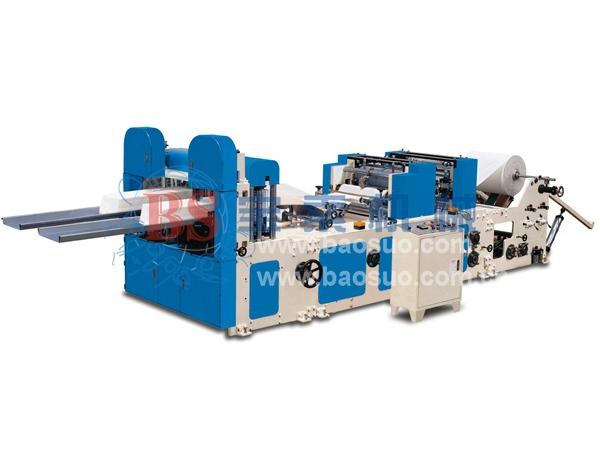 宝索YC-F-2L型高速压花餐巾机
