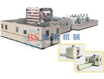 宝索YD-PL600E小盘纸高速复卷生产线