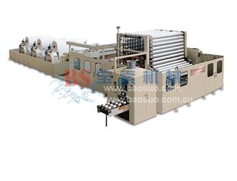 宝索YD-PL400C 有芯\无芯高速集成复卷生产线