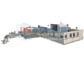 宝索YD-PL400C 有芯/无芯高速集成复卷生产线