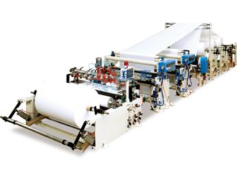 宝索PF-B 涂乳霜自动盘纸分切机