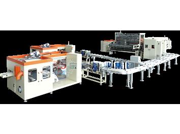 YD-PL300C 无芯卷纸高速复卷生产线